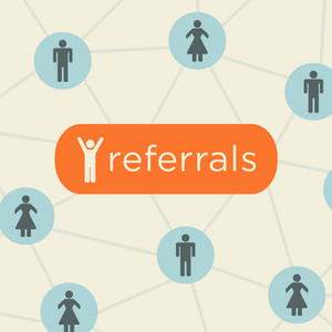 Referrals networking web
