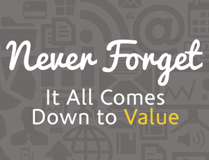 Never Forget - All About the Value