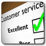 Customer service grade excellent