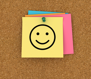 Smile Post-It Notes