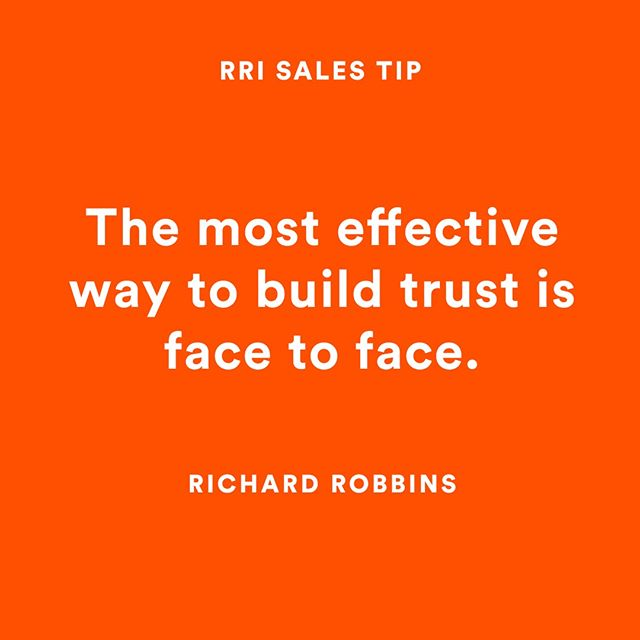In person OR on video is the best way to communicate and convey trust. Tools like @bombbombhq are perfect for agents to communicate via video. . . #rri #rrilive #video #bombbomb #realestate #buildtrust #sales #realestate #salestips #rrisalestips #realtor #success #appointments #sold #facetoface #smallbusiness #businessgoals #goals #business #realtoring #mondaymotivation