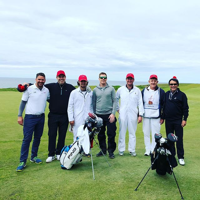 Great round, great people! ⛳️#golf #cabotlinks #novascotia #fun #itsabeautifullife #makeitcount