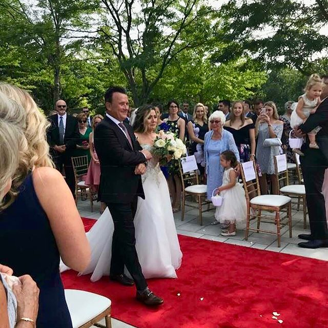 Yesterday @jaimierobbins & @lcbolahood joined as one. Truly a special day, shared by family & friends.  #becomingthebolahoods #grateful #excited #luckyparents #wedding #familygrowing