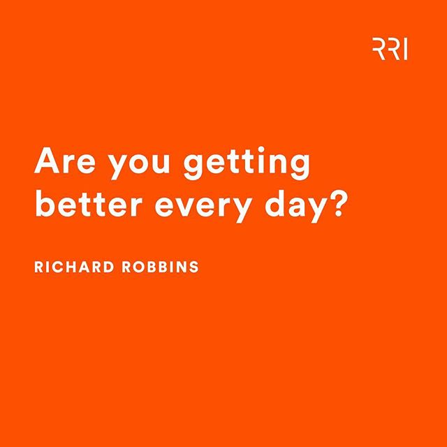 Here's a great question to ask yourself, and then be completely honest with yourself.  Are you getting better everyday? If not, what's your plan to change that?  Share in comments and let's help each other✔️ . . . . #accountability #successmindset #coaching #selfimprovement #monday #mondaymotivation